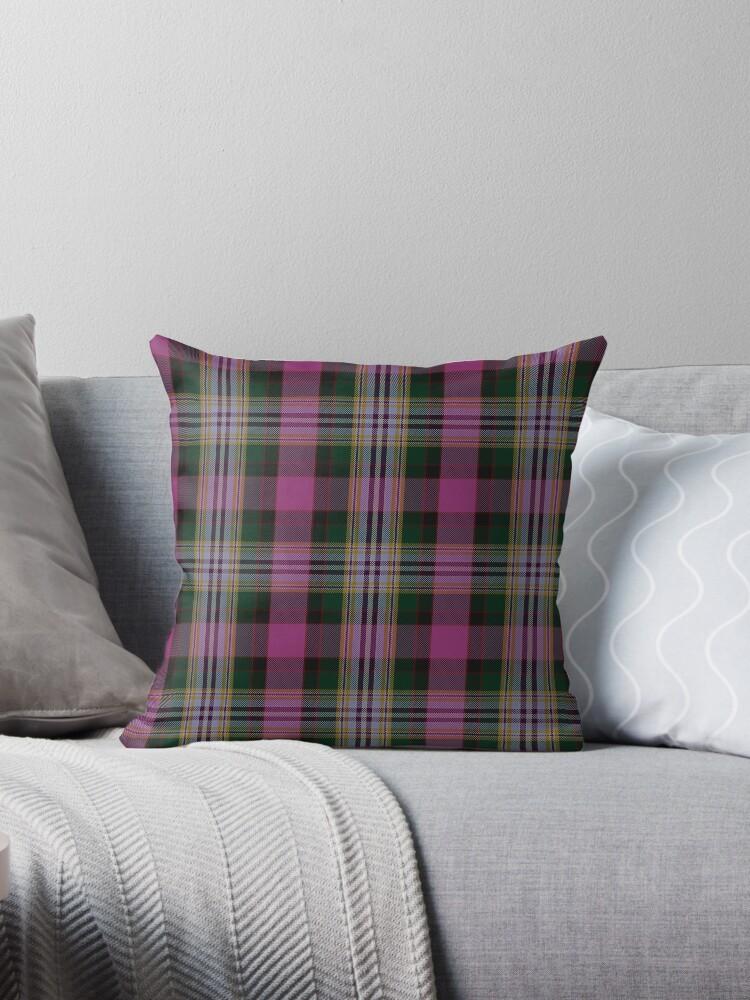 Pink and White | Scottish Clan Tartan  by koovox