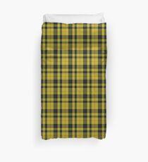 gelb und schwarz | Clan Scottish Tartan Bettbezug
