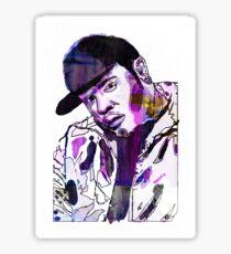 Funky DL (Purple) Sticker