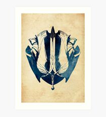 League of Legends DEMACIA CREST Art Print