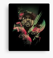 ice cube - great rapper Canvas Print