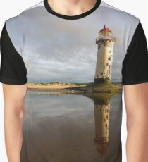 Talacre Lighhouse ,Talacre,N Wales Graphic T-Shirt