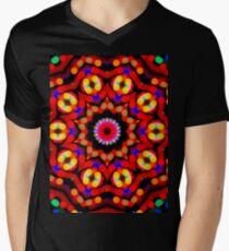 Kaleidoscope Christmas Bokeh Light Trails T-Shirt