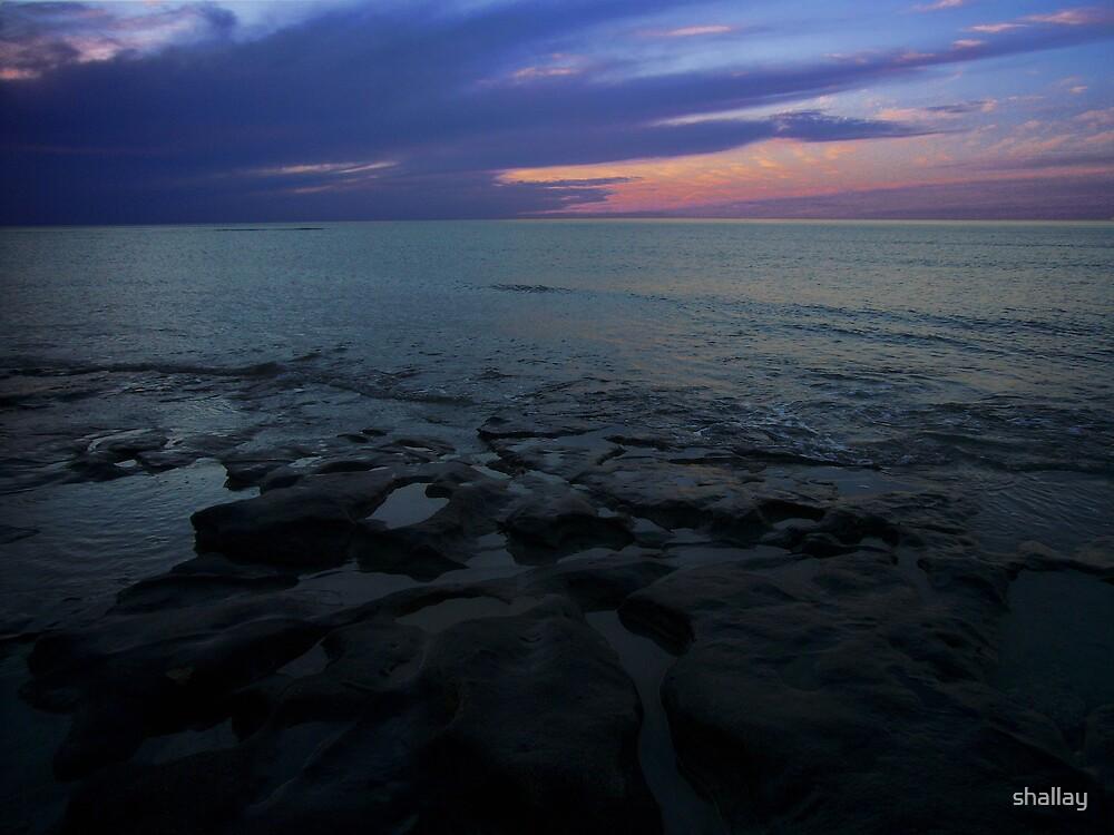 sea panorama by shallay