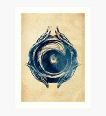 League of Legends IONIA CREST Art Print