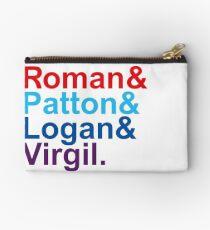 Roman & Patton & Logan & Virgil. Studio Pouch
