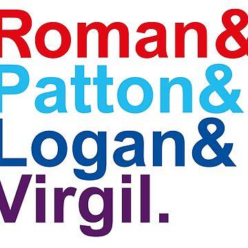 Roman & Patton & Logan & Virgil. by sky-alive