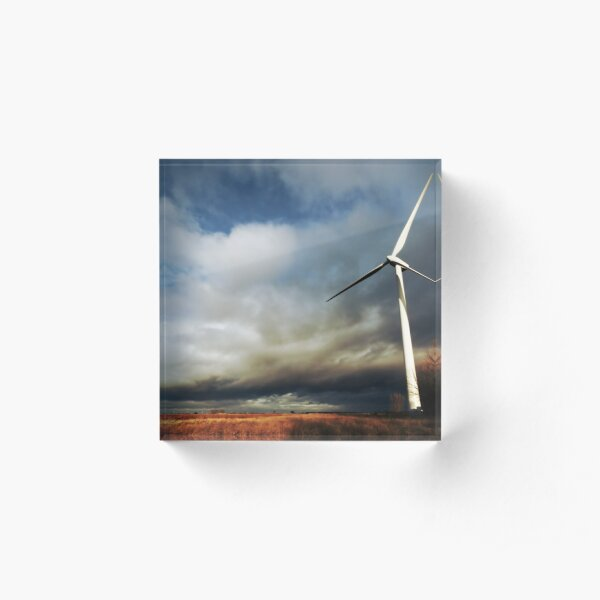 Turbine Acrylic Block