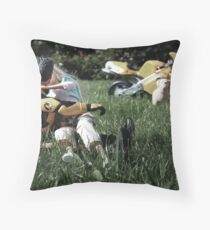All-Action-Man Throw Pillow