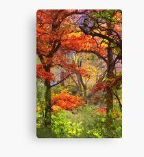Autumnal View Canvas Print