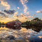 Bembridge Lagoons Boatshed by manateevoyager