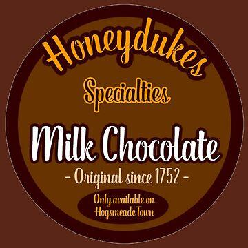 Honeydukes Chocolate - Milk Version by LadyLarousse