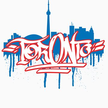 Toronto Drips by Clintp