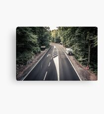 European Road Trip ... (Plitvice, Croatia) Canvas Print