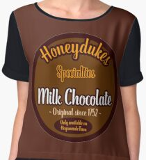 Honeydukes Chocolate - Milk Version Chiffon Top