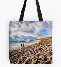 Compton Bay Beach Isle Of Wight Tote Bag