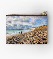 Compton Bay Beach Isle Of Wight Studio Pouch
