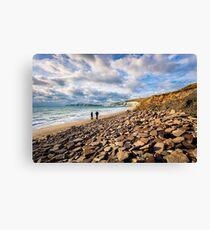 Compton Bay Beach Isle Of Wight Canvas Print
