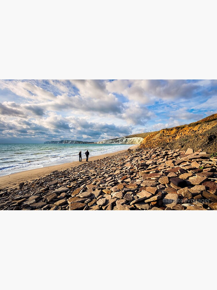Compton Bay Beach Isle Of Wight by manateevoyager