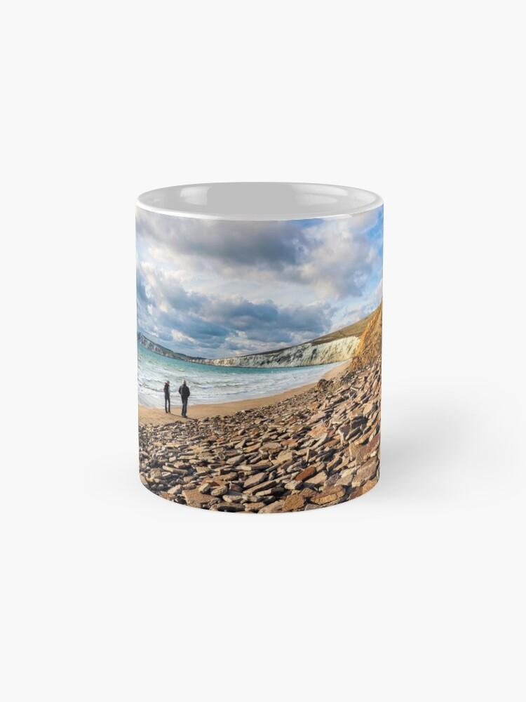 Alternate view of Compton Bay Beach Isle Of Wight Mugs