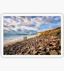 Compton Bay Beach Isle Of Wight Sticker