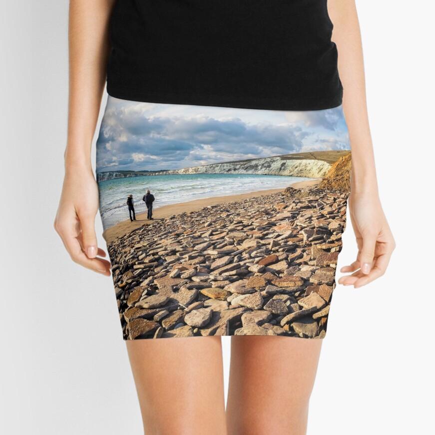Compton Bay Beach Isle Of Wight Mini Skirt