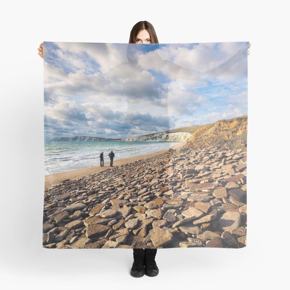 Compton Bay Beach Isle Of Wight Scarf
