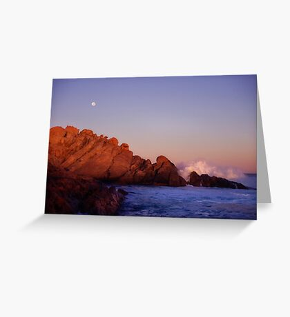 Inhaling dawn Greeting Card