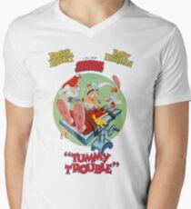 Tummy Trouble Men's V-Neck T-Shirt