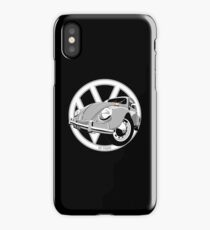 Sixties VW Beetle silver iPhone Case/Skin