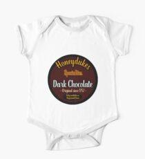Honeydukes Chocolate - Dark Version One Piece - Short Sleeve