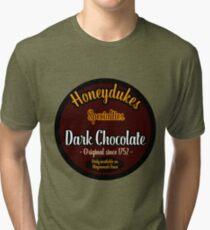 Honeydukes Chocolate - Dark Version Tri-blend T-Shirt