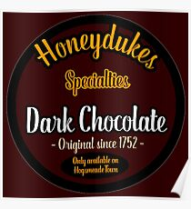 Honeydukes Chocolate - Dark Version Poster