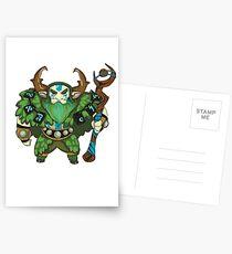 Nature's Prophet - Dota 2 Postcards