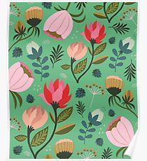 Pretty Florals Poster