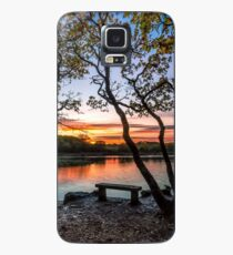 Firestone Copse Sunset Case/Skin for Samsung Galaxy