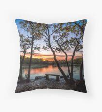 Firestone Copse Sunset Throw Pillow