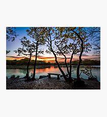 Firestone Copse Sunset Photographic Print