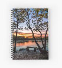 Firestone Copse Sunset Spiral Notebook