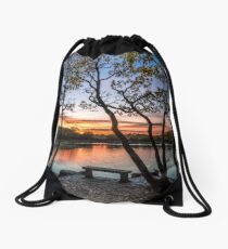 Firestone Copse Sunset Drawstring Bag