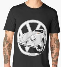 Sixties VW Beetle white Men's Premium T-Shirt