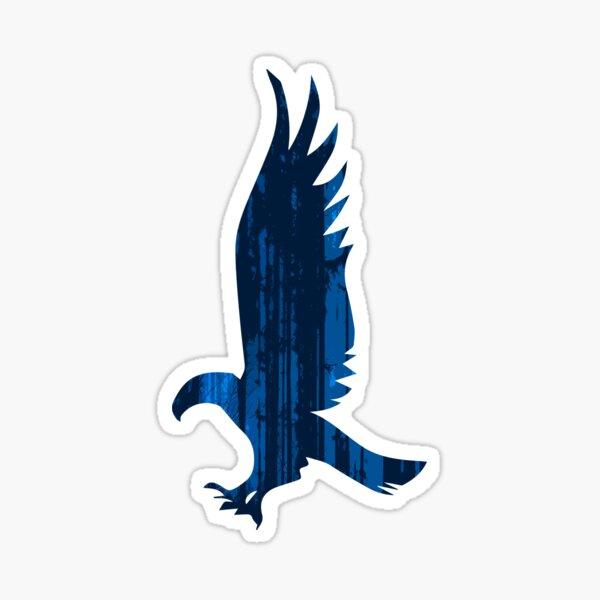 Eagle blue forest Pegatina