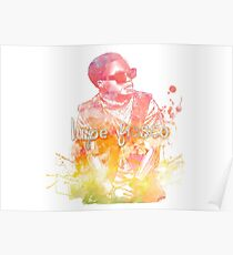 Lupe Fiasco Gradient Splash Poster