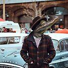 Großstadt Krokodil - Urban Crocodile von Constanze von der Goltz