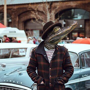 Großstadt Krokodil - Urban Crocodile von CGoltz