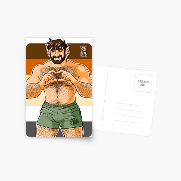ADAM I LOVE YOU - BEAR PRIDE Postcard