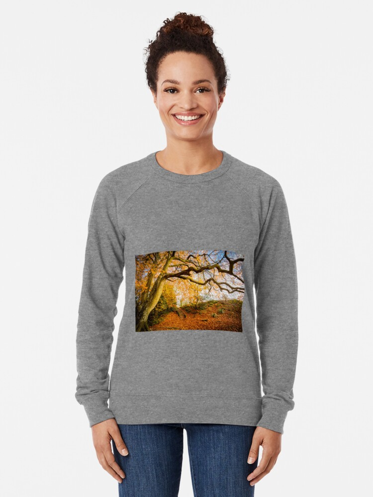 Alternate view of Autumns Golden Colours Lightweight Sweatshirt