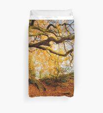 Autumns Golden Colours Duvet Cover