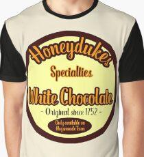 Honeydukes Chocolate - White Version Graphic T-Shirt