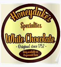 Honeydukes Chocolate - White Version Poster